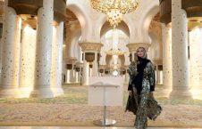 ایوانکا ترمپ 5 226x145 - تصاویر/ بازدید ایوانکا ترمپ از مسجد شیخ زاید