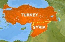 ترکیه سوریه 226x145 - افزایش نگرانی ها از درگیریهای اخیر میان نیروهای سوریه و ترکیه