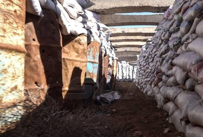 تونل داعش 1 - تصاویری از تونلهای زیرزمینی داعش