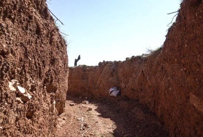 تونل داعش 3 - تصاویری از تونلهای زیرزمینی داعش
