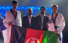 تکواندوکار افغان 1 226x145 - نایب قهرمانی افغانستان در رقابتهای تکواندو در امارات