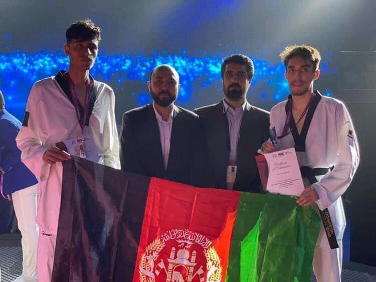 تکواندوکار افغان 1 - نایب قهرمانی افغانستان در رقابتهای تکواندو در امارات