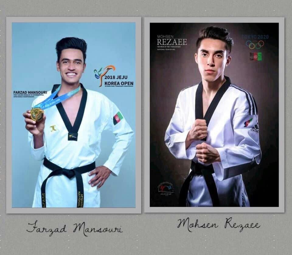 تکواندوکار افغان 3 - نایب قهرمانی افغانستان در رقابتهای تکواندو در امارات
