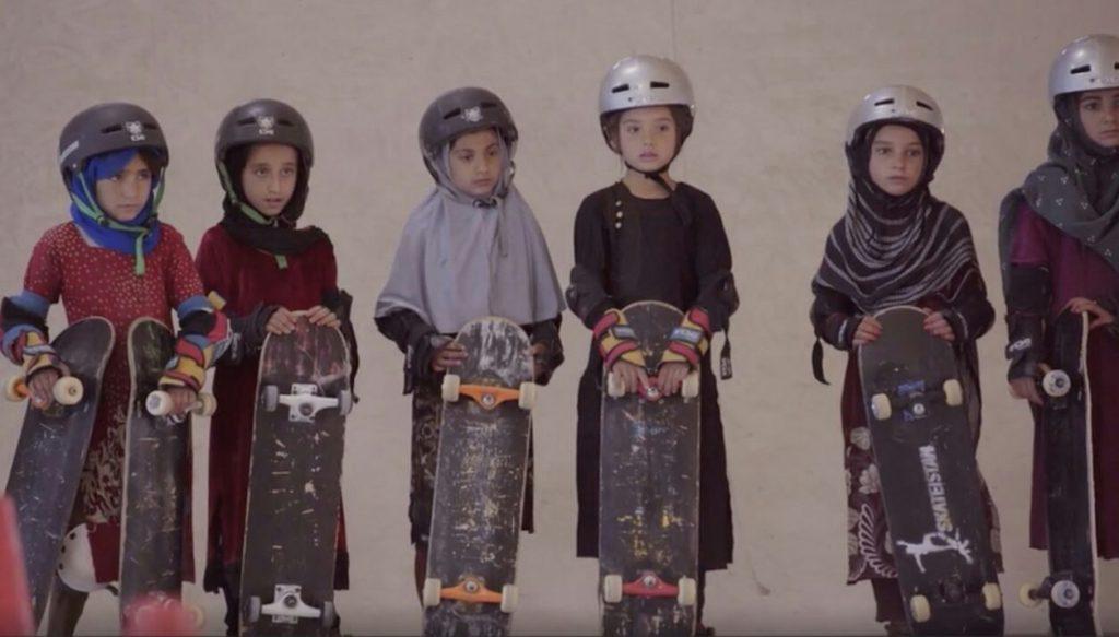 دختران سکیت بورد 3 1024x583 - جایزه جشنواره فلم بریتانیا برای فلم دختران سکیت بورد افغانستان