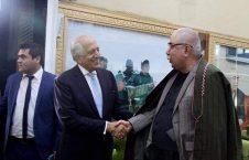 دوستم خلیلزاد 226x145 - رایزنی انتخاباتی زلمی خلیلزاد با جنرال دوستم