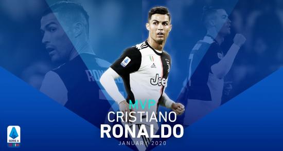 رونالدو 550x295 - انتخاب کریستیانو رونالدو به حیث بهترین بازیکن ماه لیگ برتر فوتبال ایتالیا