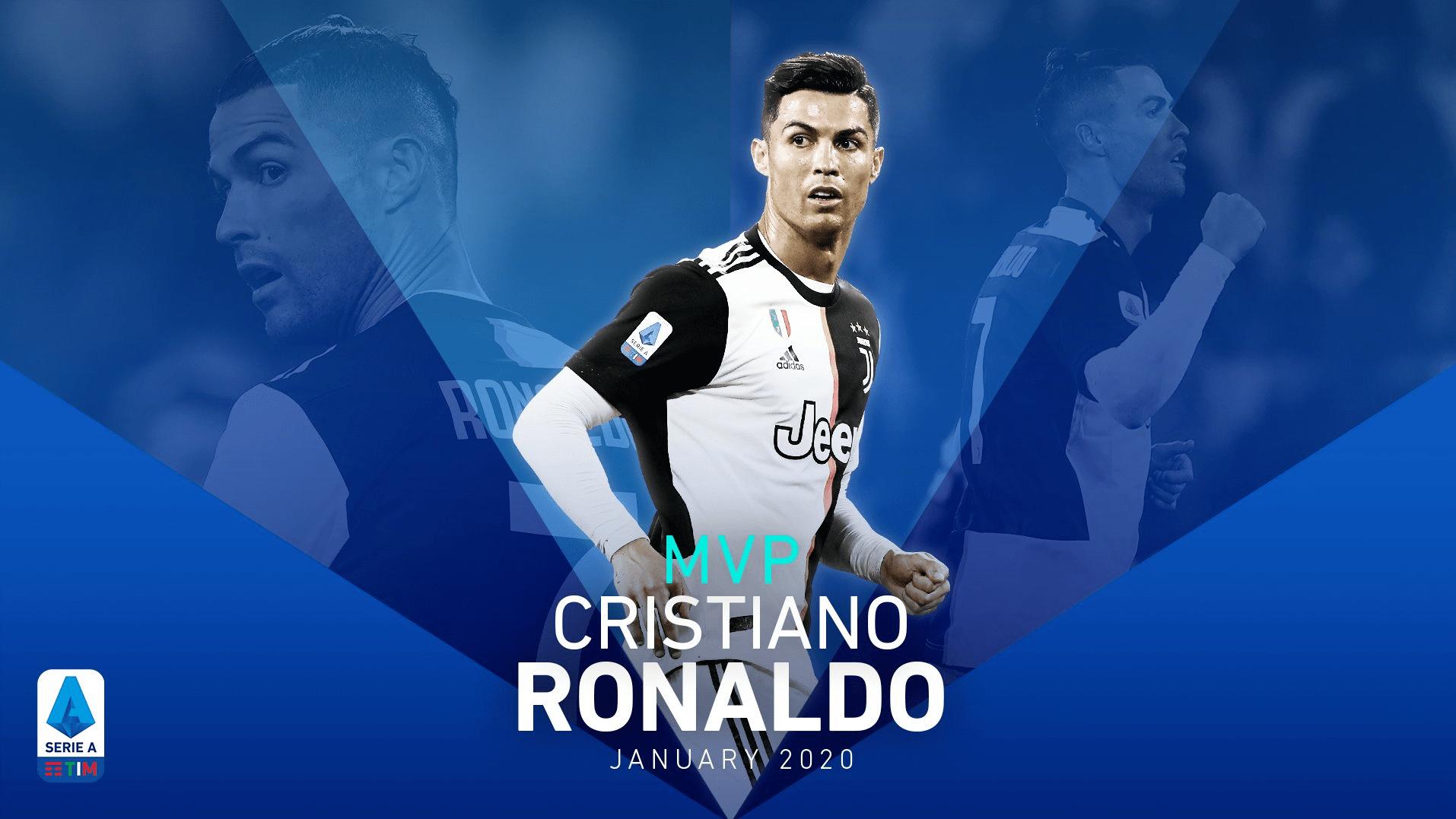 رونالدو - انتخاب کریستیانو رونالدو به حیث بهترین بازیکن ماه لیگ برتر فوتبال ایتالیا