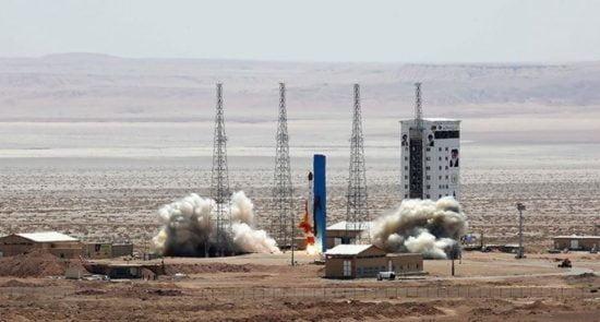 ماهواره ظفر 550x295 - ایران بار دیگر در پرتاب ماهواره به فضا ناکام ماند