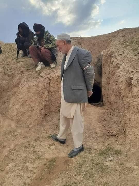محمد علی حسنی 1 - تصاویر/ ولسوال دره صوف بالای ولایت سمنگان در بند طالبان