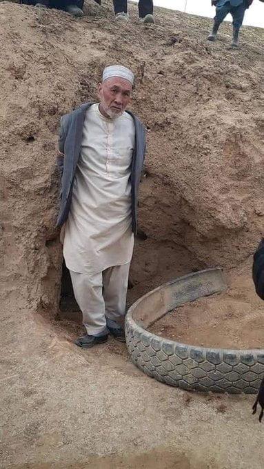 محمد علی حسنی 2 - تصاویر/ ولسوال دره صوف بالای ولایت سمنگان در بند طالبان