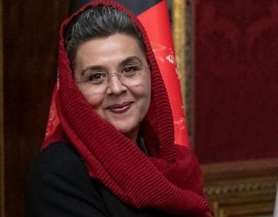 هلینا ملکیار 2 - سفیر افغانستان در ایتالیا با دستور رییس جمهور غنی برکنار شد