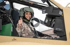 ویدیو اولین پیلوت زن طیاره جنگی قطر 226x145 - ویدیو/ اولین پیلوت زن طیاره جنگی در قطر