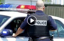 ویدیو/ فرار زن سارق از دست پولیس امریکا