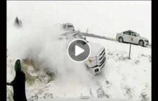ویدیو فرار پولیس مرگ 226x145 - ویدیو/ فرار پولیس از یک قدمی مرگ