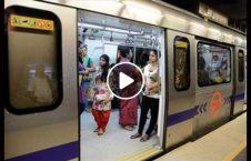 ویدیو مردان هند زنان قطار 226x145 - ویدیو/ عاقبت ورود مردان هندی به قسمت زنان در قطار