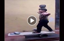 ویدیو نمایش طفل چینایی کاسه 226x145 - ویدیو/ حرکات نمایشی جالب یک طفل چینایی با کاسه