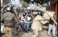 ویدیو پولیس هند محصلین مسلمان 226x145 - ویدیو/ حمله وحشیانه پولیس هند به محصلین مسلمان