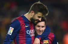 پیکه مسی 226x145 - مدافع بارسلونا مسی را جادوگر خواند!