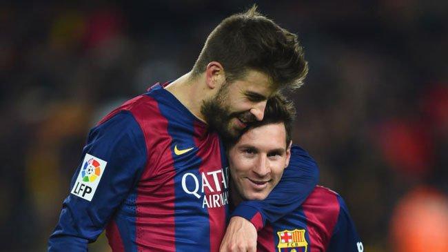 پیکه مسی - مدافع بارسلونا مسی را جادوگر خواند!