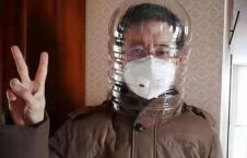 چینایی ویروس کرونا 10 226x145 - تصاویر/ روش های جالب چینایی ها برای مقابله با ویروس کرونا