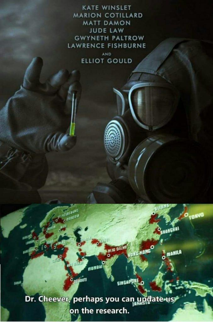 کرونا فلم 677x1024 - ساخت فلم شیوع ویروسی شبیه کرونا توسط هالیوود در سال 2011