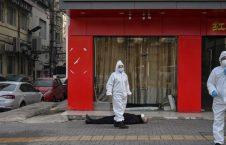 کرونا چین جسد 1 226x145 - شمار قربانیان ویروس کرونا افزایش یافت