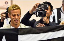 کیسوکه هوندا 226x145 - استقبال گسترده از ستاره جاپانی در برازیل
