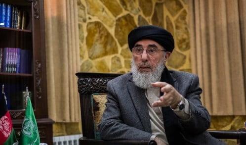 گلبدین حکمتیار - توصیه گلبدین حکمتیار به سران طالبان