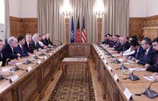 اشرف غنی امریکا ناتو 226x145 - دیدار رییس جمهور غنی با وزیر دفاع ملی امریکا و سرمنشی سازمان ناتو
