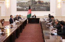 اشرف غنی شورای سراسری صرافان 226x145 - دیدار رییس جمهور غنی با شورای سراسری صرافان افغانستان