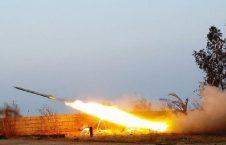 راکت 226x145 - پایگاه نظامیان امریکایی در عراق هدف حمله راکتی قرار گرفت
