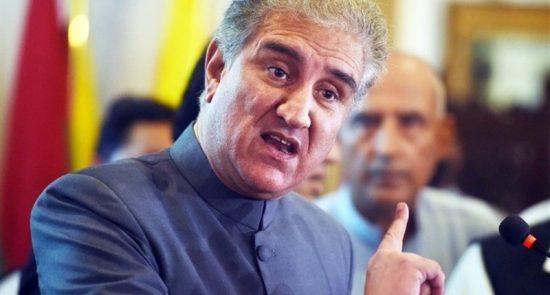 شاه محمود قریشی 550x295 - موانع مسیر صلح افغانستان از دیدگاه وزیر امور خارجه پاکستان