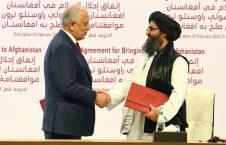 طالبان امریکا 226x145 - انتقاد وزارت دفاع ملی از نقض توافقنامه صلح توسط طالبان