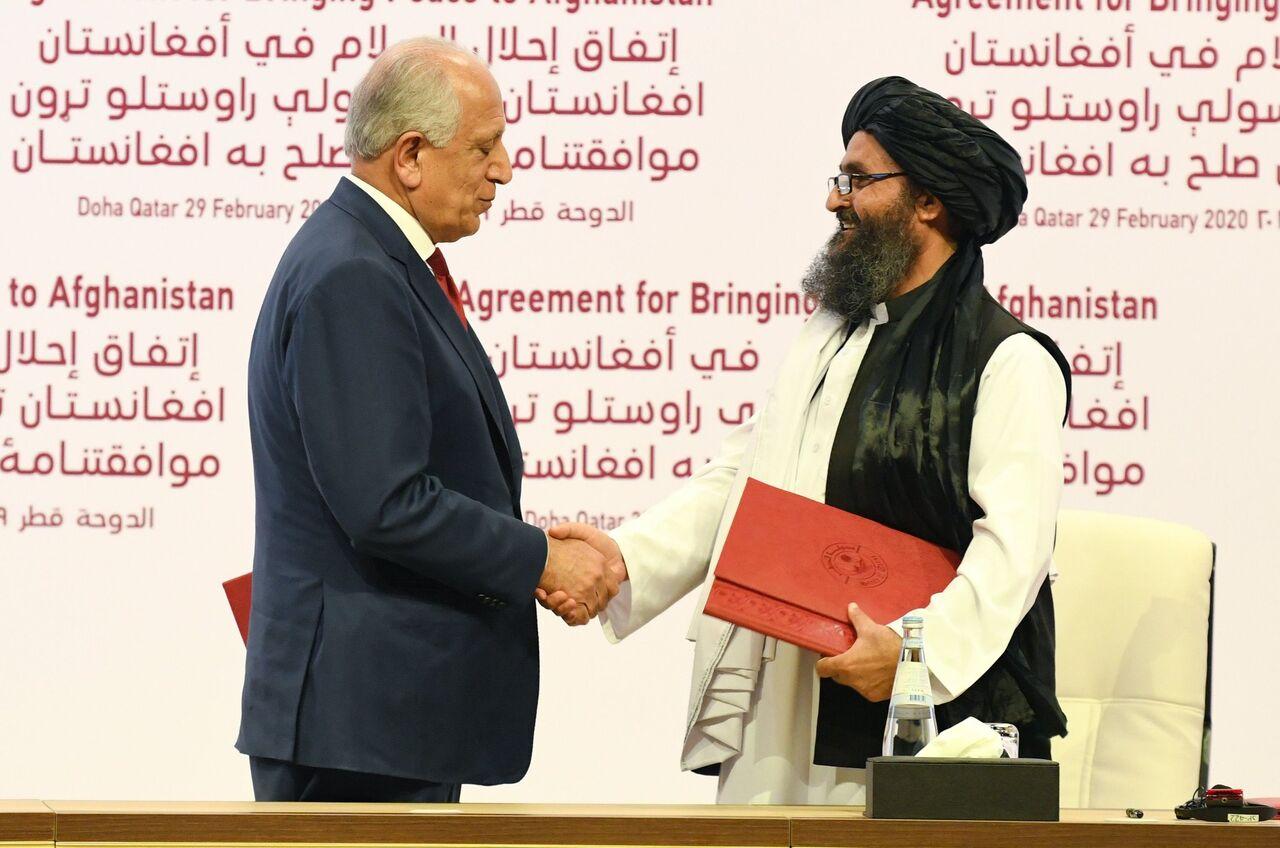 طالبان امریکا - انتقاد وزارت دفاع ملی از نقض توافقنامه صلح توسط طالبان