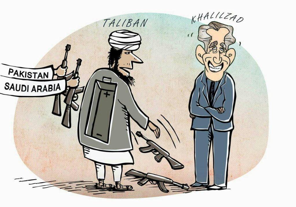 طالب 1024x716 - کاریکاتور/ تلخ ترین طنز صلح!