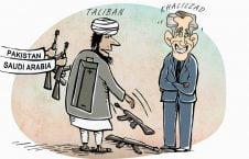 طالب 226x145 - کاریکاتور/ تلخ ترین طنز صلح!
