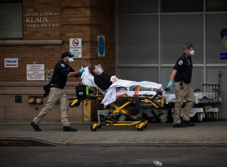 نیویارک کرونا 1 - وقوع فاجعه امنیتی براثر کرونا در نیویارک