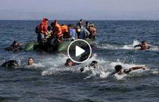 ویدیو بحر یونان غرق مهاجرین 226x145 - ویدیو/ تلاش نیروی بحری یونان برای غرق کردن مهاجرین