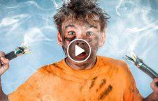 ویدیو بلای برق گرفته مرد 226x145 - ویدیو/ بلایی که پس از برق گرفته گی بر سر این مرد آمد