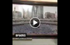 ویدیو تصویر بیت الله شریف ارگ سفید 226x145 - ویدیو/ نصب تصویر بیت الله شریف در ارگ سفید