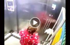 ویدیو عجیب زن مشکوک کرونا لِفت 226x145 - ویدیو/ اقدام عجیب یک زن مشکوک به کرونا در لِفت