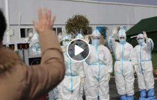 ویدیو ووهان از داکتر کرونا شکست 226x145 - ویدیو/ قدردانی مردم ووهان از داکترانی که کرونا را شکست دادند