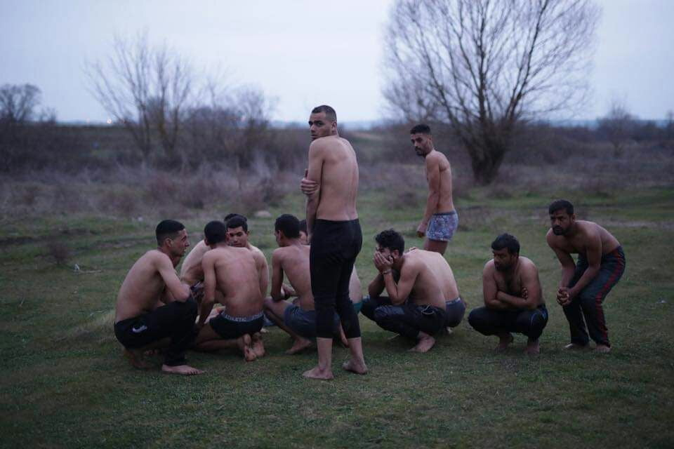 پناهجویان یونان 3 - تصاویر/ برخورد غیر انسانی پولیس یونان با پناهجویان