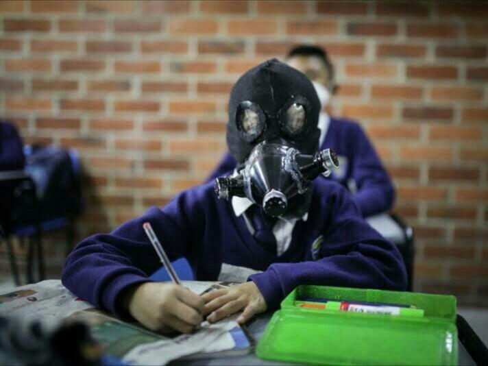کرونا ماسک - تصویر/ اختراع جدید برای مبارزه با ویروس کرونا!