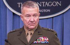 کینت مکنزی 226x145 - بی اعتمادی جنرال امریکایی به طالبان؛ مکنزی: توافق صلح را ترک نمی کنیم