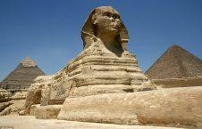 ابوالهول 226x145 - کشف جدید هنگام ضدعفونی کردن منطقه اهرام سهگانه مصر