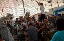 اردوگاه یونان 226x145 - تخریب شدید یک اردوگاه توسط مهاجرین در یونان