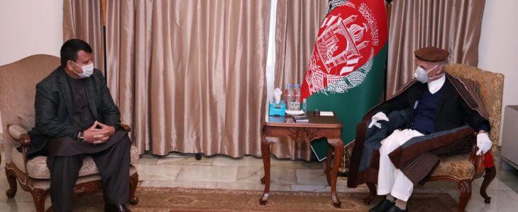 اشرف غنی میر رحمان رحمانی - اقدام عملی رییس ولسی جرگه برای مبارزه با ویروس کرونا