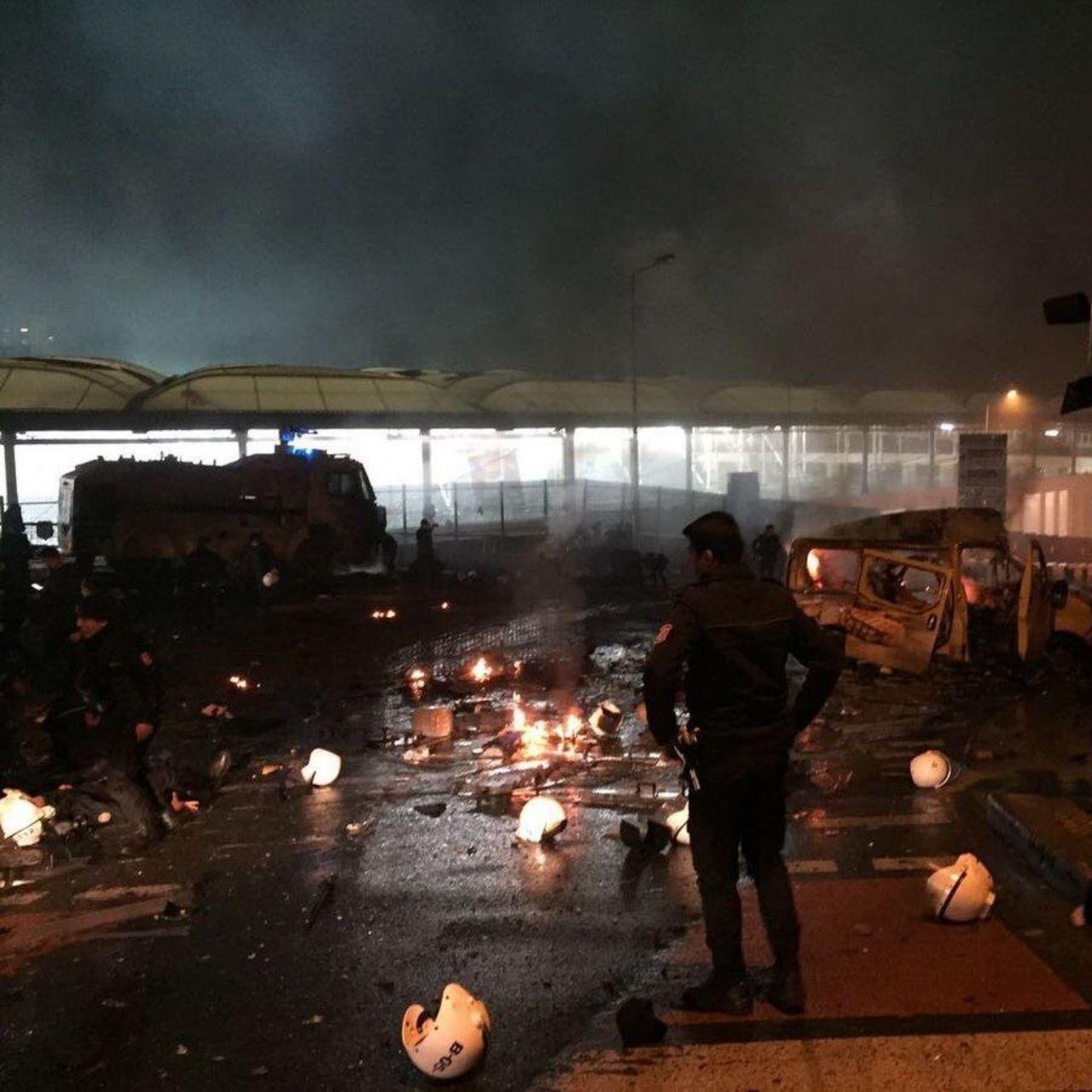 انفجار ترکیه اسلحه سازی - حریق فابریکه اسلحه سازی در آنکارا