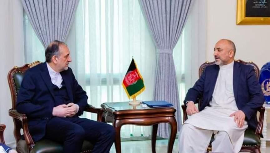 حنیف اتمر بهادر امینیان - پلان وزارت امور خارجه برای بازگشت مهاجرین افغان از ایران